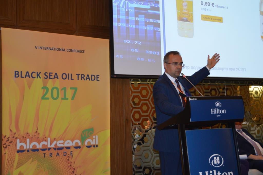 Экспорт подсолнечного масла в 1 полугодии 2017 г. вырос на 57%